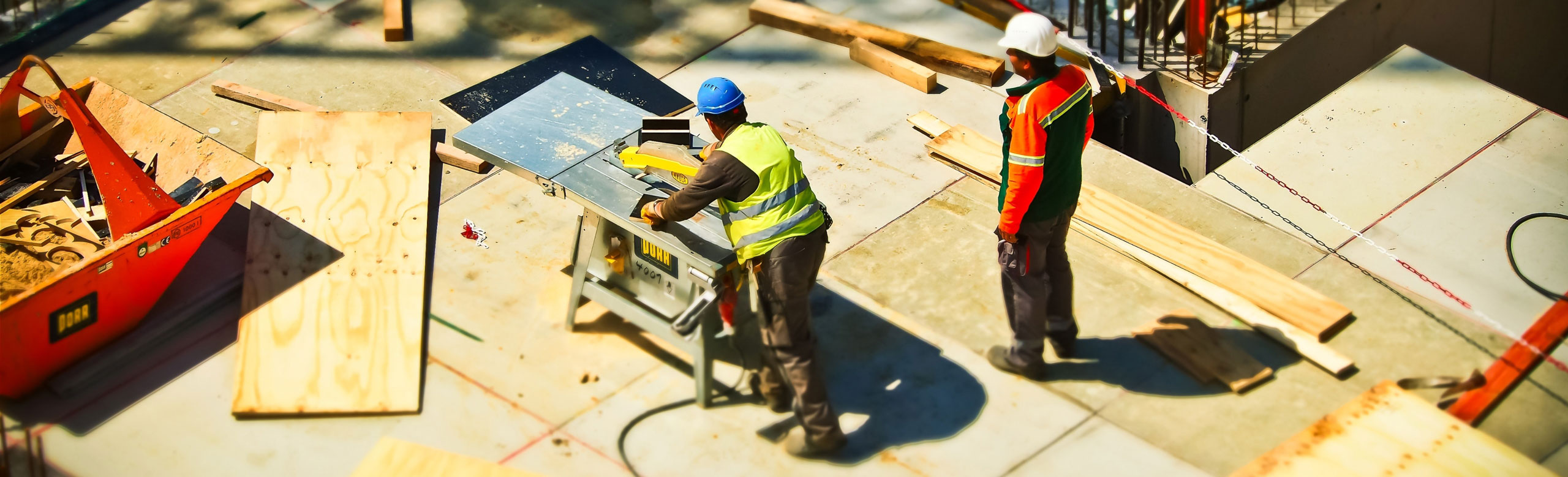 Building construction and maintenance services